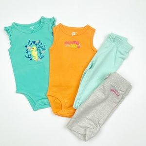 Carter's 6 Months Baby Girl Clothes
